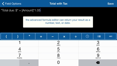 Screenshot for Tap Forms Organizer and Secure Database in Sweden App Store
