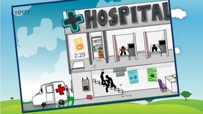 Deadly Hospital and Lab - Stickman Edition screenshot two