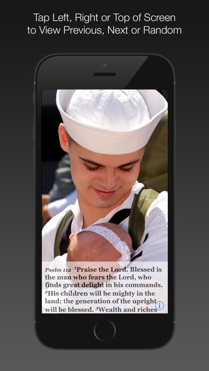 Navy Psalm Daily Quotes NIV screenshot-4