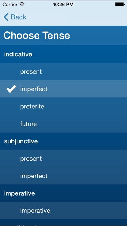 French Verbs Trainer screenshot-0