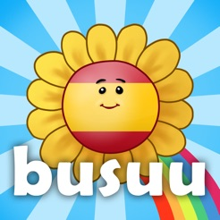 Kids learn Spanish with busuu