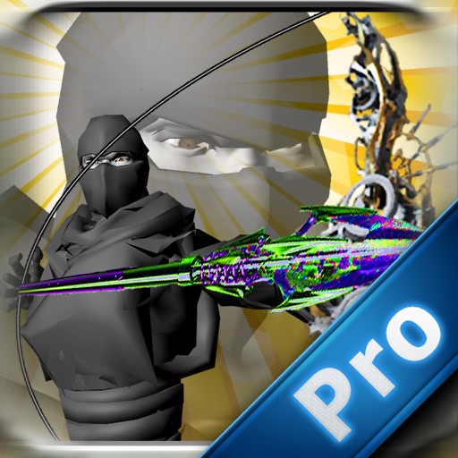 Black Ninja Shooter Pro