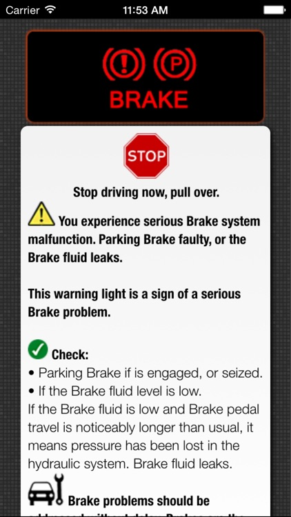 App for Saab Cars - Saab Warning Lights & Road Assistance - Car Locator screenshot-2