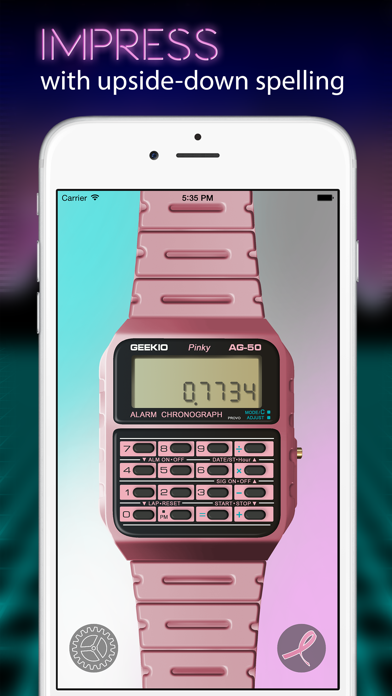 Geek Watch - Retro Calculator Watchのおすすめ画像2