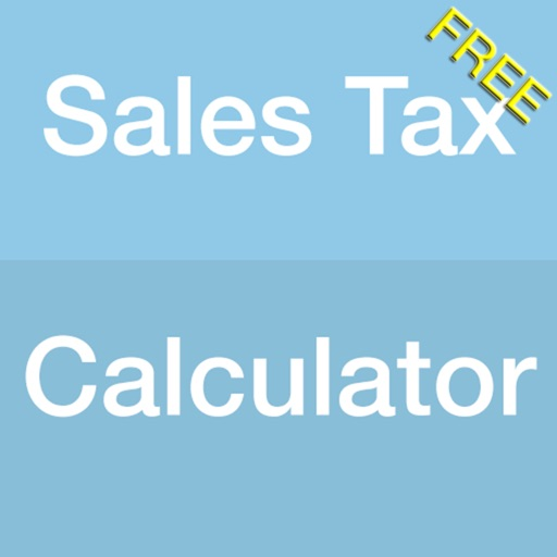 Sales Tax Calculator App for FREE