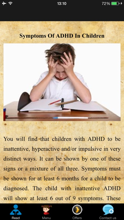 Symptoms Of ADHD In Children