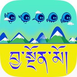 Tibetan Flying Blue Bird