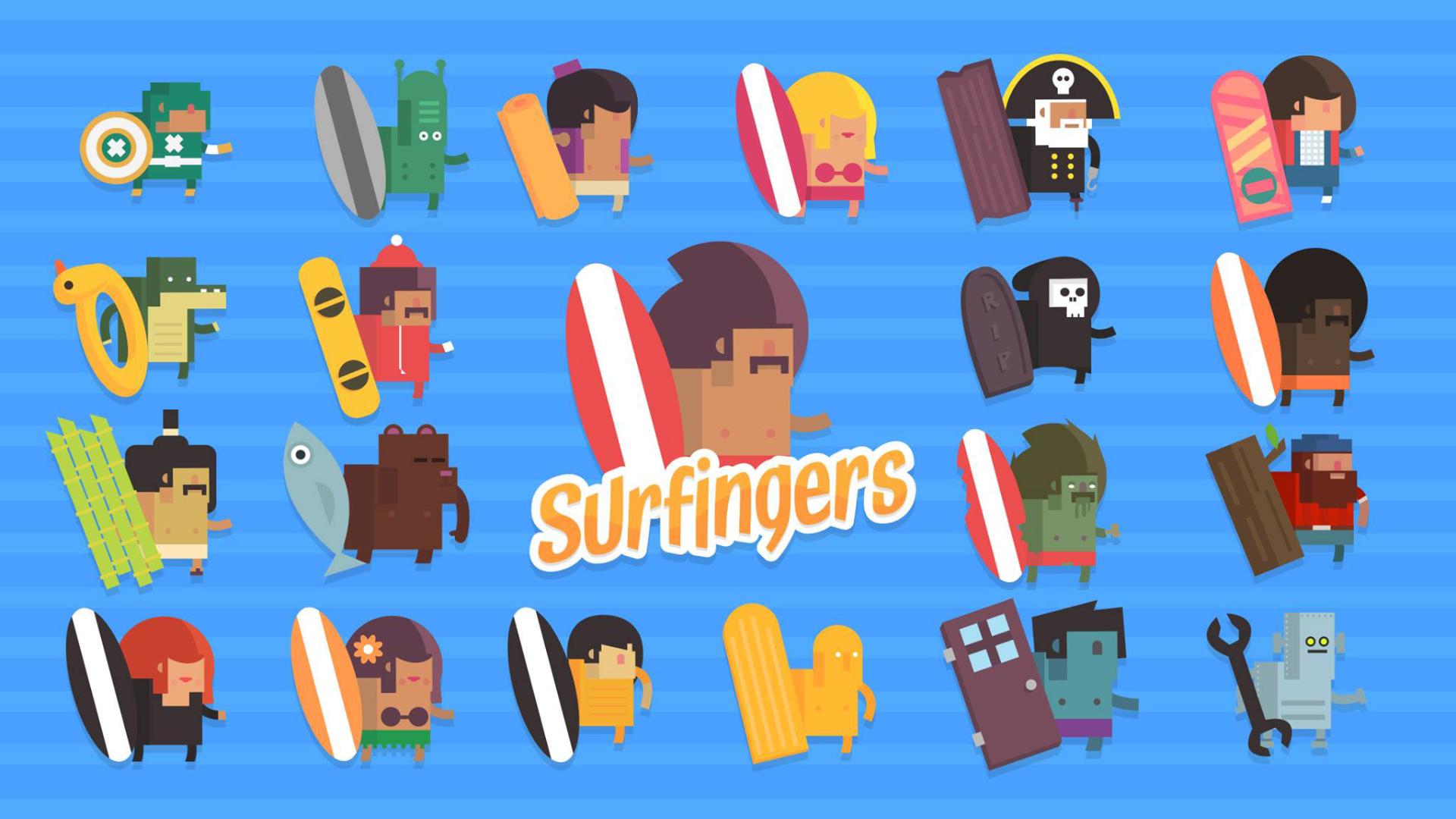 Surfingers screenshot 13