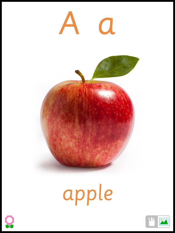 A for Apple (Alphabets Flashcards for Preschool Kids)-ipad-0