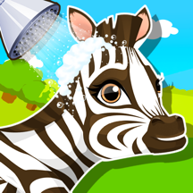 Baby Zebra SPA Salon - Makeover Game For Kids