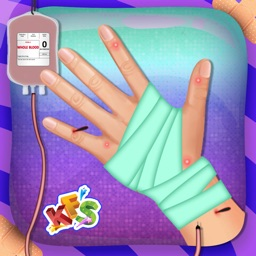 Hand Surgery - Crazy skin beauty surgeon and doctor hospital game