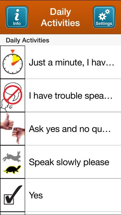 SmallTalk Daily Activities