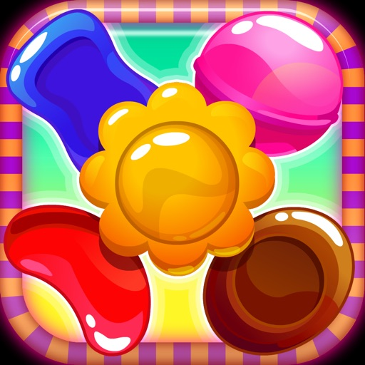 Sweet Jolly Candies! Tasty Pop Match Puzzle - Full Version