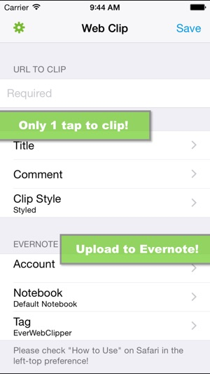 EverWebClipper for Evernote - Clip Web Pages