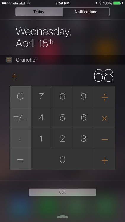 Cruncher - Watch Calculator