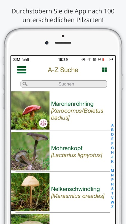 Pilze bestimmen - erleben Sie die Natur und lernen Sie, die 100 wichtigsten heimischen Pilzarten zu unterscheiden screenshot-3