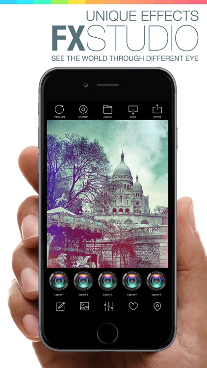 Camera Shot 360 for iPhone 6 - camera effects & filters plus photo editor screenshot-1