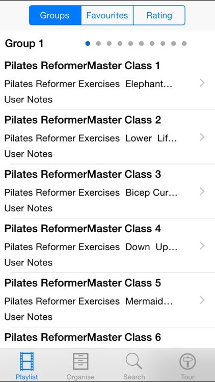 Pilates Reformer Master Class screenshot-1