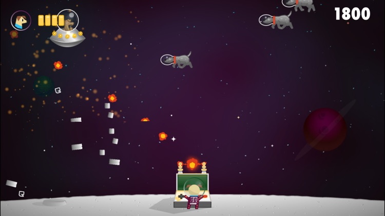 Space Dog - Invasion on the Moon!