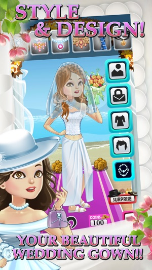 My Bridal Dress Up Salon - A Fun Wedding Day Boutique For Little ...