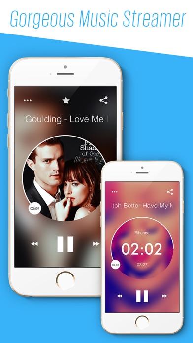 SoundTune Free Music Streamer & MP3 Player screenshot one