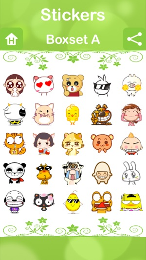Stickers for Facebook Messenger, WeChat, Viber & WhatsApp...etc on the App  Store