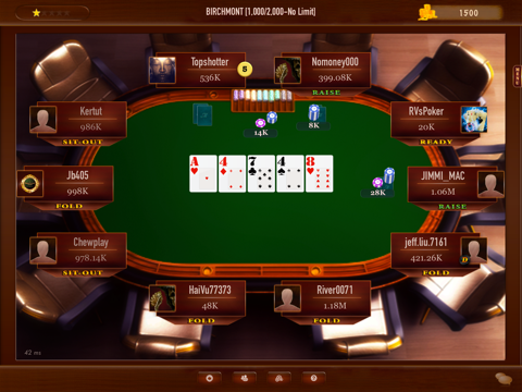 Mega Poker Texas Holdem screenshot