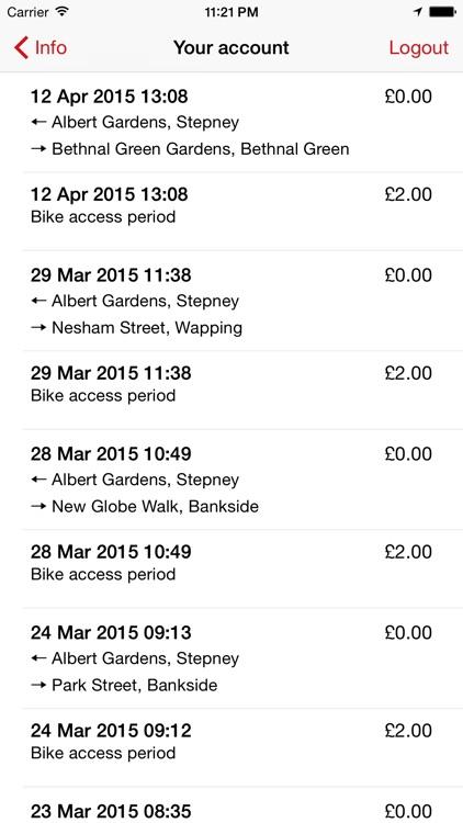 Cycle Hire London for Santander Cycles screenshot-4
