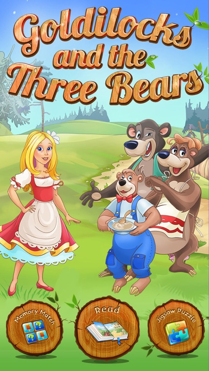 Goldilocks and the Three Bears - All In One Education Center & Interactive Storybook for Kids
