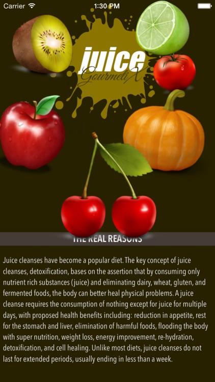 GourmetiX Juice Recipes screenshot-4