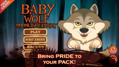 Baby Wild Wolf - Moonlight Jungle Flight Adventure - Full Version screenshot four