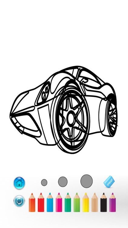 Car Color Book - Coloring game for Kids & Toddlers