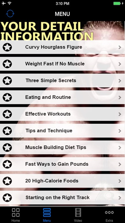 A+ How To Gain Weight & Muscle Fast - Best Effective Guide & Tips For Workout, Bulk Up, Exercises  and  Diet Plan screenshot-4