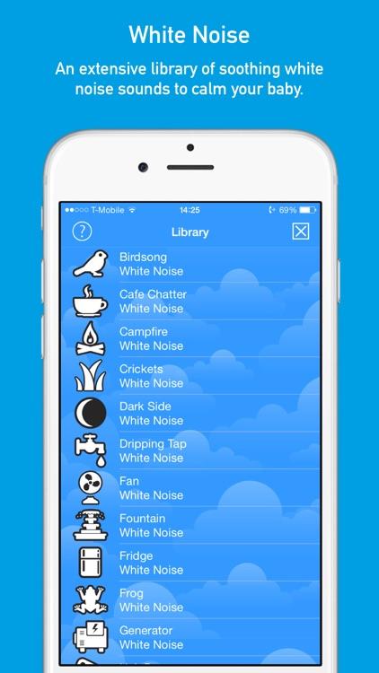 SleepHero: Baby Sleep App with White Noise Sound Machine and Voice Recorder screenshot-3