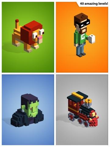Kubiko - трехмерные головоломки из 3D пикселей! для iPad