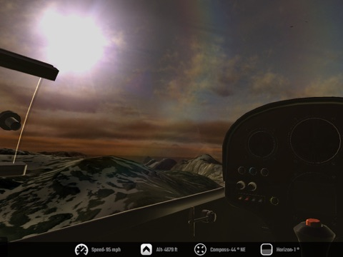 Screenshot #3 for Glider - Soar the Skies