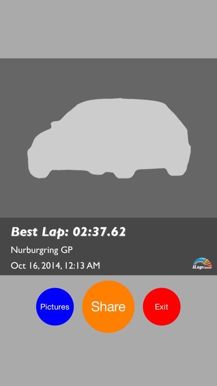 iLapTimer - Motorsport GPS Lap timer & Data Logger screenshot-3