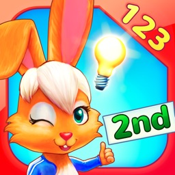 Wonder Bunny Math Race: 2nd Grade Learning App for Numbers, Addition, Subtraction, Multiplication and Division