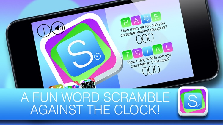 Scramble FREE - Unscramble the words and beat the clock