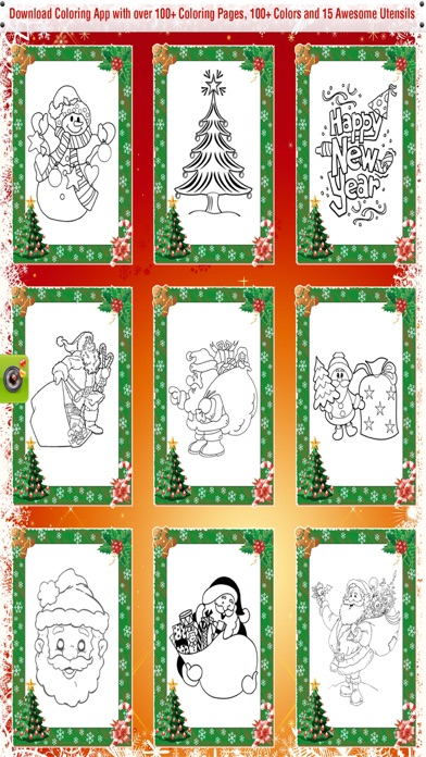 christmas coloring book for kids the best fun on your device no more need for purchasing crayons marker and coloring books you can now use you iphone and