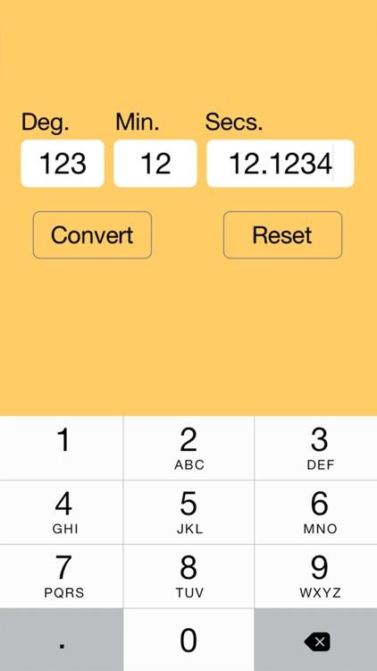 Lat Lon Converter Pro screenshot-3