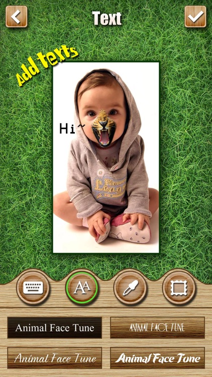 Animal Face Tune Pro - Sticker Photo Editor to Blend, Morph and Transform Yr Skin with Wild Animal Textures screenshot-3