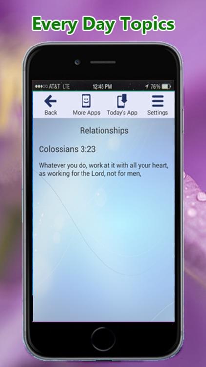 Bible Verses By Topic screenshot-3