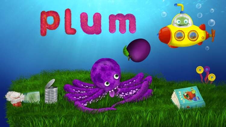 Tiggly Submarine: Preschool ABC Game screenshot-3