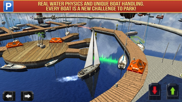 Super Yachts Parking Simulator - Real Boats Race Driving Test Park Racing Games screenshot-4