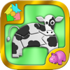Farm Jigsaw Puzzle - Animals and Plants - Yegor Kurbachev