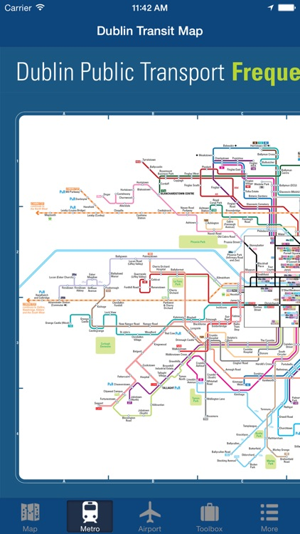 Dublin Offline Map - City Metro Airport