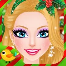 Christmas Salon - Girls Makeup, Dressup and Makeover Games