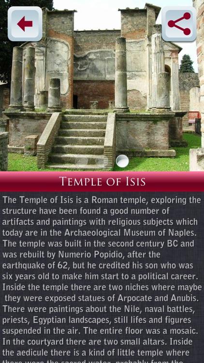 Pompeii Tour Guide screenshot-4
