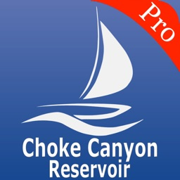 Choke Canyon Reservoir Nautical Charts pro